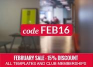 Joomla Template Coupons February 2016