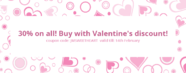 Valentine's Day deal! High discount on Joomla templates