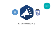 DJ-Classifieds Joomla 3.5 and PHP7 update