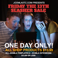 Friday the 13th - Slasher Sale