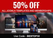 50% Off Joomla Templates