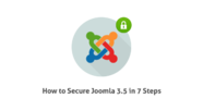 Read how to secure Joomla 3.5 in 7 Steps