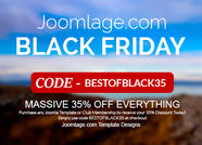 Black Friday Weekend at Joomlage.com