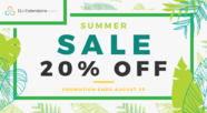 Summer sale - 00% OFF on all!