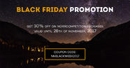 Black Friday great sale: get 30% off on NorrCompetition