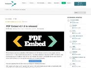 PDF Embed v2.1.8 is released