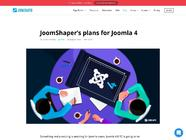 JoomShaper's plans for Joomla 4