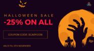 Halloween -25% discount on Joomla extensions