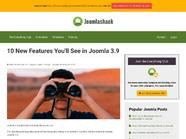 10 New Features You'll See in Joomla 3.9