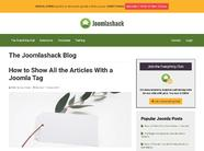 How to Show All the Articles With a Joomla Tag