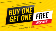 Special Offer: Buy One, Get One FREE