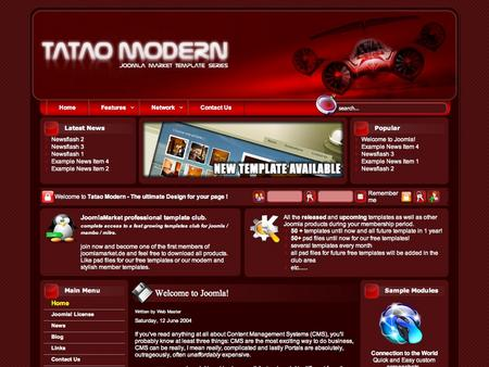Tatao Modern Red