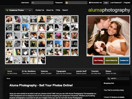 Joomla+templates+photography