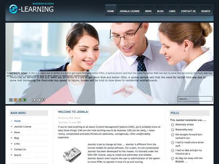 E Learning Website Templates. course starter templates for e ...
