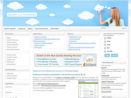 best photos of joomla 1 joomla template imagination