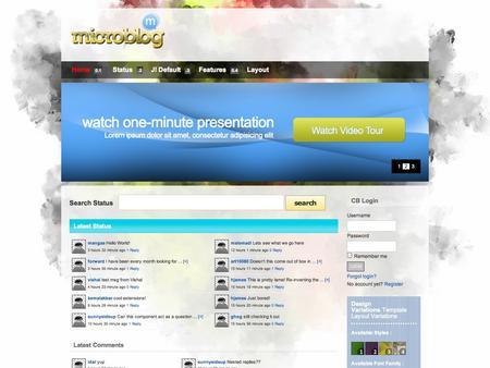 Microblog Plazza