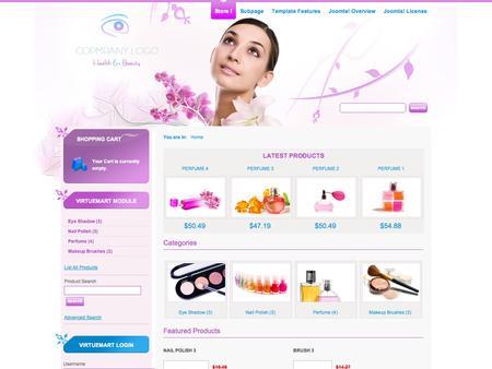 JM-Cosmetics-Store by Joomla-Monster