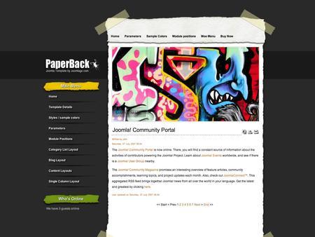 Joomlage - PaperBack