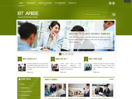 Free joomla template bt arise corporate template for joomla 25 bt arise corporate template for joomla 25 wajeb Gallery
