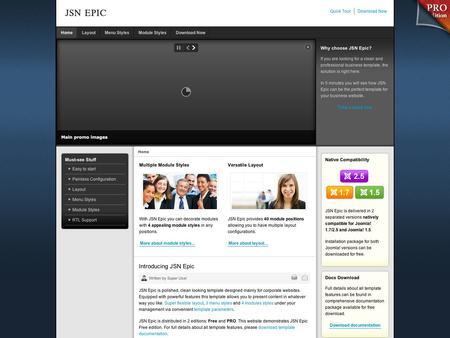 template joomla 2.5 gratuit