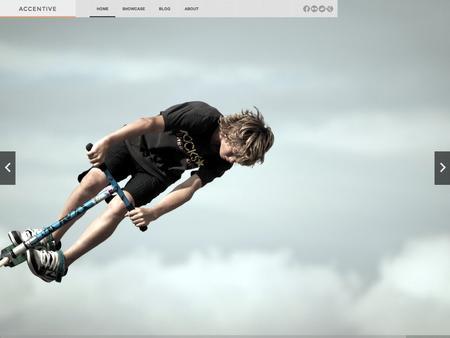 Accentive Photography Joomla Template