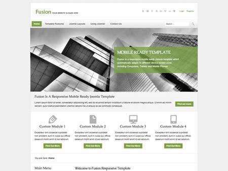 Joomla Template - Fusion