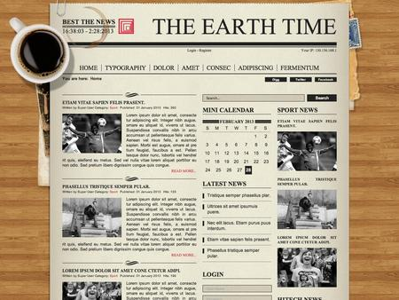 Joomla Template  Newspaper