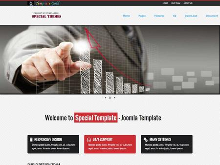 Special Template Joomla