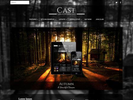 Joomlage - Cast v2.0