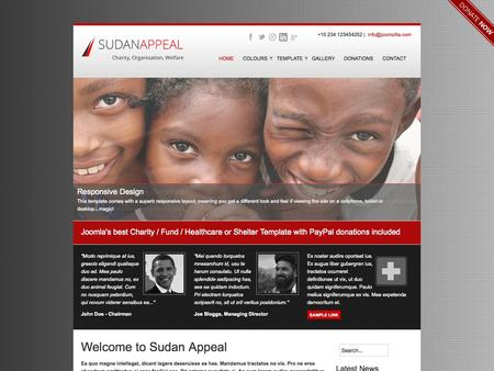 Sudan Appeal - Charity, Shelter, Organisations