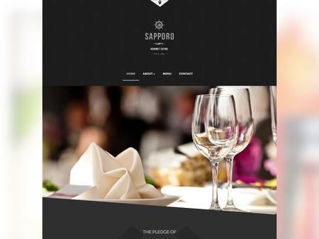 Sapporo Restaurant Template