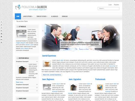 Gilbeer - Responsive Template