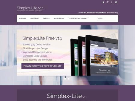 Joomlage - Simplex