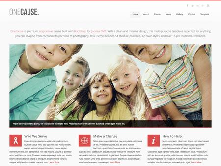 OneCause Charity Theme