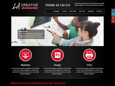 LA Creative - Web, Design, Print