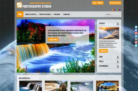 Photography - Travel Joomla! Template
