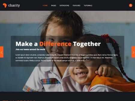 Shape5 Charity Template