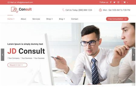 JD Consult - Multipurpose & eCommerce