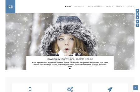 Joomla Template Ice