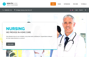 Health Guide - Shape5 Joomla Template