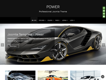 Power Joomla Theme
