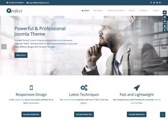 Perfect Business Joomla Theme