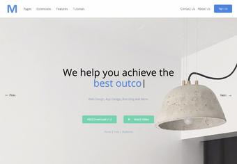M Creative Agency - Shape5