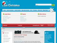 Christmas Joomla 1.5 template