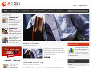 JA Nickel - New Joomla! Business Portal