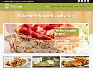 Delicious - Restaurant E-Commerce Template