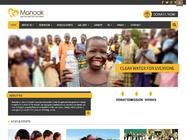 B2J Manook | Charity Website Template