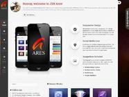 JSN Ares � A template for  your masterful portfolio website.