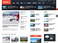 SJ News II - Free Responsive Joomla Template