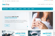 Zeus shop Joomla template